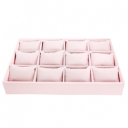 Jewellery display material Soft pink
