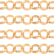 Basic Quality metal belcher chain 6mm Light rose gold