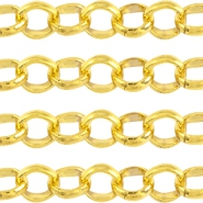 Basic Quality metal belcher chain 6mm Gold