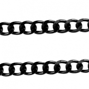 Basic Quality link chain 12x9mm Black