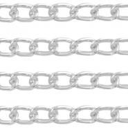 Basiq Quality metal belcher chain 4.3mm Antique silver