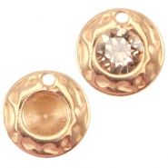 DQ charm for PP32 chaton Rose gold (nickel free)