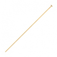 DQ metal headpins 50mm Rose gold (nickel free)