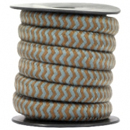 Dreamz cord 10mm Brown-grey
