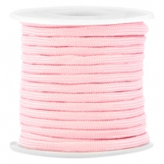 Trendy 4mm flat surfcord Pink
