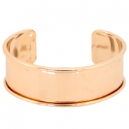 DQ metal findings bracelet base  Rose gold (nickel free)