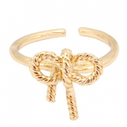 Must-have bow ring Gold