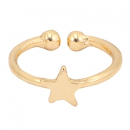 Must-have star ring Gold