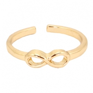 Must-have infinity ring Gold