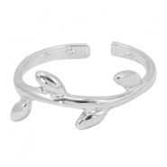 Must-have leaf ring Silver