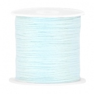 DIY beading thread Pastel blue
