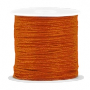 DIY beading thread Dark russet orange