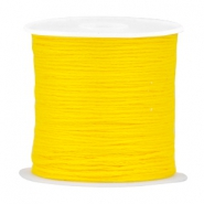 DIY beading thread Vibrant yellow