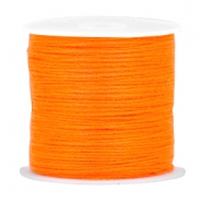 DIY beading thread Neon orange