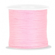 DIY beading thread Baby pink