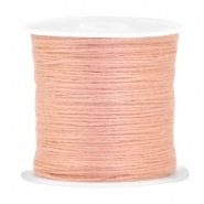 DIY beading thread Antique salmon rose