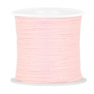 DIY beading thread Pastel rose peach