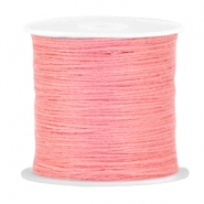 DIY beading thread Rouge pink