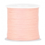 DIY beading thread Pastel peach