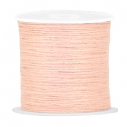 DIY beading thread Vintage peach