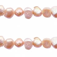 4-5mm Nugget freshwater pearls Vintage peach rose