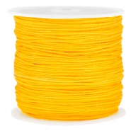 Macramé bead cord 0.8mm Sunflower yellow