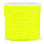 Macramé bead cord 0.8mm Neon yellow