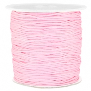 Macramé bead cord 1.0mm Light pink