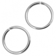 Jumprings stainless steel 5mm Silver
