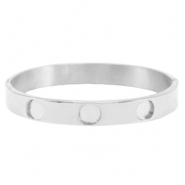 Polaris Steel bracelet 3 settings Silver
