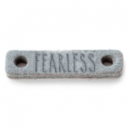 Leather DQ connector FEARLESS Grey