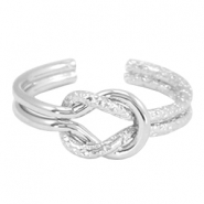 Knot must-have ring Silver