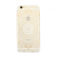 Telephonecase mandala for Iphone 7 Transparent - white