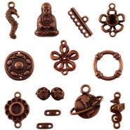 DQ European metal beads and charms DQ European metal beads copper