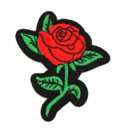 Rose patches Red-green