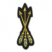 Arrow patches Yellow-blue