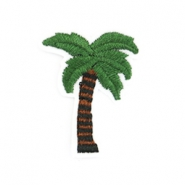 Palmtree patches Green-brown