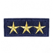 Army stars patches Blue-gold