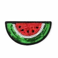 Watermelon patches Red-green-white
