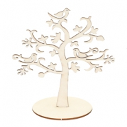 Jewellery display wooden tree Natural (natural wood colour)