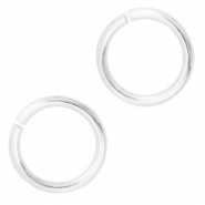 14mm DQ jumpring DQ Silver durable plated