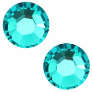 Swarovski Elements SS30 flat back stone (6.4mm) Blue zircon