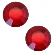 Swarovski Elements SS30 flat back stone (6.4mm) Siam red