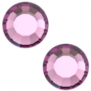 Swarovski Elements SS30 flat back stone (6.4mm) Amethyst purple