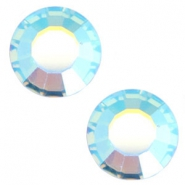 Swarovski Elements SS20 flat back stone (4.7mm) Aqua marine blue aurore boreale