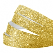 Crystal glitter tape 10mm Gold