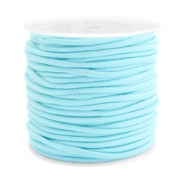 Coloured elastic cord 2.5mm Aqua blue