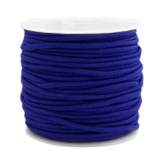 Coloured elastic cord 2.5mm Cobalt blue