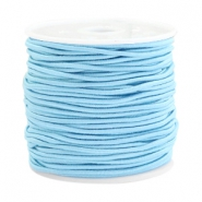 Coloured elastic cord 1.5mm Arctic blue