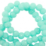 Sparkling beads 8mm Turquoise